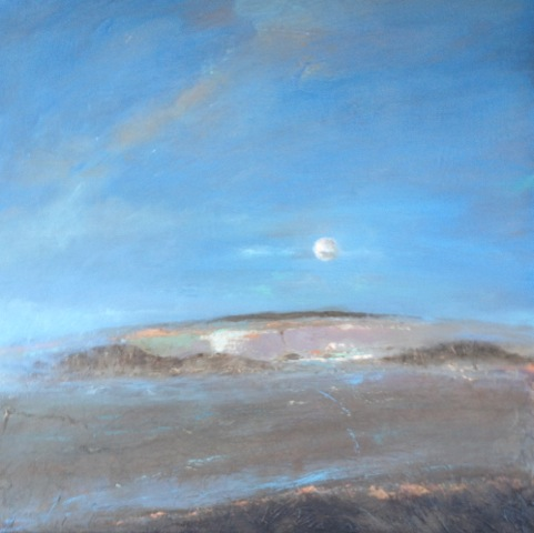 'A Time To Reflect' Landscape Acrylic on Board